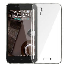 Silicone TPU Clear Back Cover For Micromax Canvas Doodle 3 A102 -Transparent