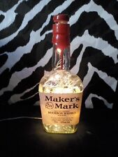 DIY Bottle Lamp Bourbon Jim Beam Bulleit Knob Creek Jack Upcycle Recycle Lights