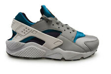 Mens Nike Air Huarache Run - 318429-024 - Wolf Grey Purple White Trainers