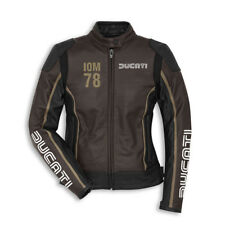 DUCATI IOM ISOLA MAN GIACCA PELLE DONNA GIACCA PELLE GIACCA LADY NUOVO 2018