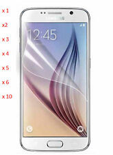 Ultra Clear Transparent Screen Protector Shield Guard For Samsung Galaxy S4. Lot
