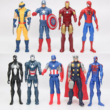 30cm Marvel Super Hero's Action Figures Captain America Ironman Spiderman Thor