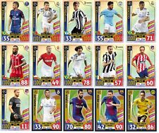 TOPPS CHAMPIONS 2018 CLUB 100 HAT HERO CARD MATCH ATTAX NEYMAR RONALDO MESSI