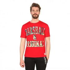 Marshall Original Vêtements Homme T-shirts Rouge 81207 moda1