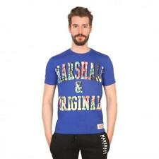 Marshall Original Vêtements Homme T-shirts Bleu 81205 moda1