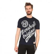 Marshall Original Vêtements Homme T-shirts Bleu 81204 moda1