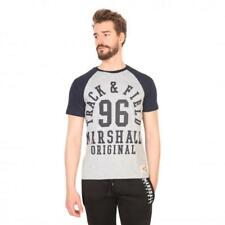 Marshall Original Vêtements Homme T-shirts Gris 81189 moda1