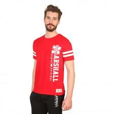 Marshall Original Vêtements Homme T-shirts Rouge 81183 moda1