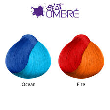 Splat Ombre Long Lasting Semi Permanent Cruelty Free Hair Dye Kit - All Colours