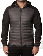 Mens Threadbare Padded Quilted Jacket Coat Warm Lightweight Winter Fashion HIPPO