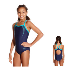 Speedo Costume Piscina  Bambina Girl Sports Logo TSRP MSBK JF NAVY 68-09729B369