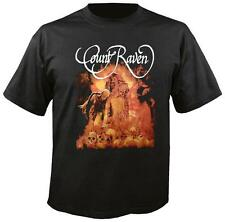 COUNT RAVEN - MAMMONS WAR BAND SHIRT NEW IMPORT DOOM 2 SIDED FREE U.S. SHIPPING