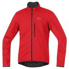 Chaqueta Gore Bike Wear E Windstopper Rojo