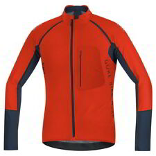Maillot Gore Bike Wear Alp-X Pro Windstopper SO Z-Off Naranja-Negro