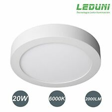 Downlight Plafón Superficie LED Redonda 20W 2000LM Luz Fría/Neutra/Cálida 6000K