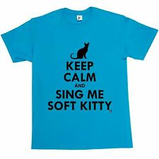 Keep Calm & Sing Me Soft Kitty Penny Childhood Song Mens T-Shirt