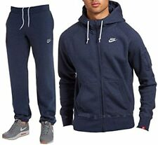 Mens Nike Foundation Full Tracksuit Navy/Grey 649765 451 Sizes: UK S_M_L_XL
