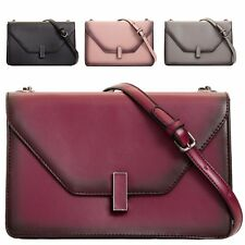 Ladies Faux Leather Shoulder Bag Clutch Bag Evening Bridal Purse Handbag KT2079