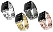 Band For Apple Watch 42mm Stainess Steel Link Bracelet Strap Buckle iWatch 38mm