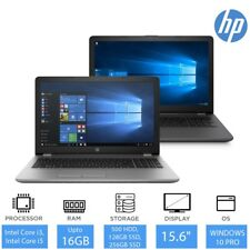 "HP 250 G6 15.6 "" ordinateur portable, jusque Intel Core i7, 16Gb ram, optionnel"