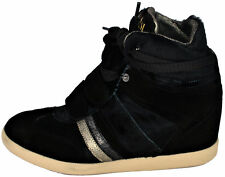 Scarpa Zeppa Donna Nero Serafini Sneakers Woman Black