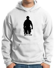 FELPA DA UOMO CON CAPPUCCIO KTM0502 BATTLEFIELD 3 CALL OF DUTY PS3