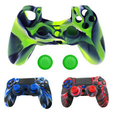 PRO Mimetico In Silicone Gel Cover Custodia con Grip + JOYSTICK TAPPO PER PS4