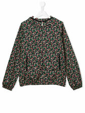 New Moncler Junior Girls Floral VIVE IMPRIME Multicolour Jacket - Navy- RRP £285