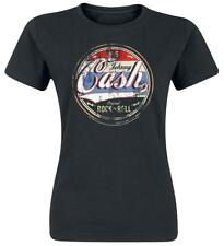 Johnny Cash Original Rock 'n' Roll Maglia donna nero