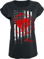 Rise Against Stained Flag Maglia donna nero