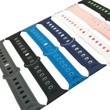 Soft Silicone Watch Band Strap Clasp Replacement for Apple iWatch 42mm/38mm