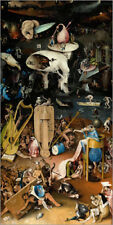 Póster Garden of Earthly Delights, Hell - Hieronymus Bosch