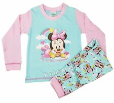 Baby Girls Minnie Mouse My Little Dream Long Length Pyjama Set 6 to 24 Months