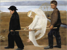 Cuadro sobre lienzo The Wounded Angel - Hugo Simbert