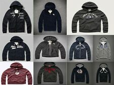 Abercrombie & Fitch Mens Zip Hoodie Sweater Jacket Top M L XL