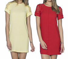 ROBE FEMME ROBE ROUGE E JAUNE TAILLE S