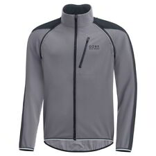 Chaqueta Gore Bike Wear Phantom Plus Gore Windstopper Zip-Off Gris-Negro