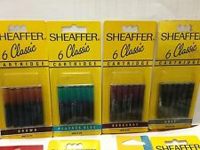 SHEAFFER 6 CLASSIC Cartridge For Fountain Pens
