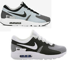 Original Nike Air Max Zero Essential trainers Sneakers White Black Grey Obsidian
