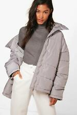 Boohoo Lucy Oversized Padded Jacket para Mujer