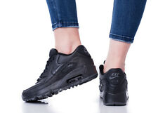Nike Air Max 90 LTR SE GS CHAUSSURES FEMME CHAUSSURES BASKETS CLASSIC 897987-001
