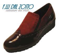 DONNA SOFT art. 7159 SCARPA ZEPPA  colore BORDO'