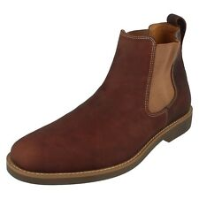 Mens Anatomic & Co Tobacco Mustang Leather Chelsea Boots - Cardoso
