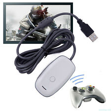Wireless Adapter Convert Receiver For XBox 360 Controller to Windows PC Games VM