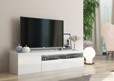 Frozen Mobile Porta Tv 2 Ante Living Bianco Laccato Lucido design moderno