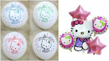 Hello Kitty Supershape Foil / Latex Balloons Kid's Birthday Party Decorations.
