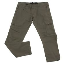 3105U pantalone uomo MESSAGERIE verde militare green trouser pant men