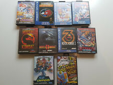 Jeux Megadrive Genesis games sonic ,spinbal,might and magic, street of rage etc