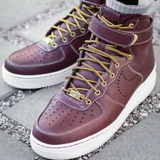 NIKE AIR FORCE 1 HIGH 07 LV8 WB Sneaker Herrenschuhe Turnschuhe Leder 882096-600