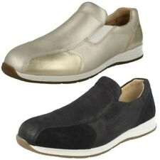 Donna Easy B Vestibilità larga SCARPE CASUAL SLIP-ON CLEO